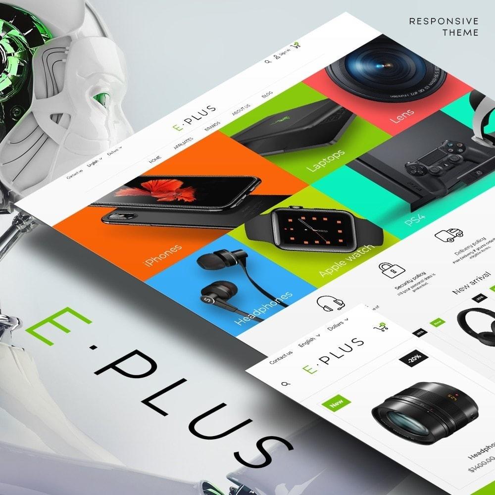 theme - Elektronica & High Tech - E-Plus - 1