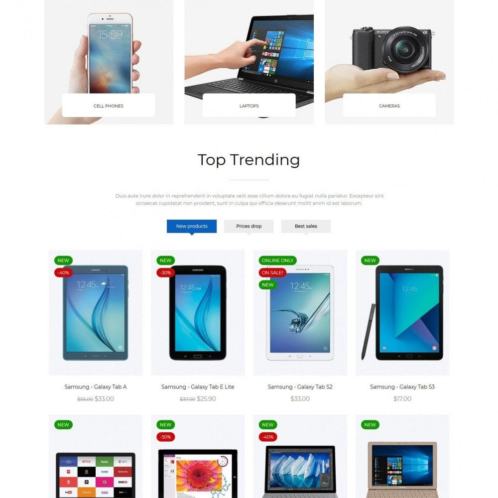theme - Elektronika & High Tech - TechRadar - High-tech Shop - 3