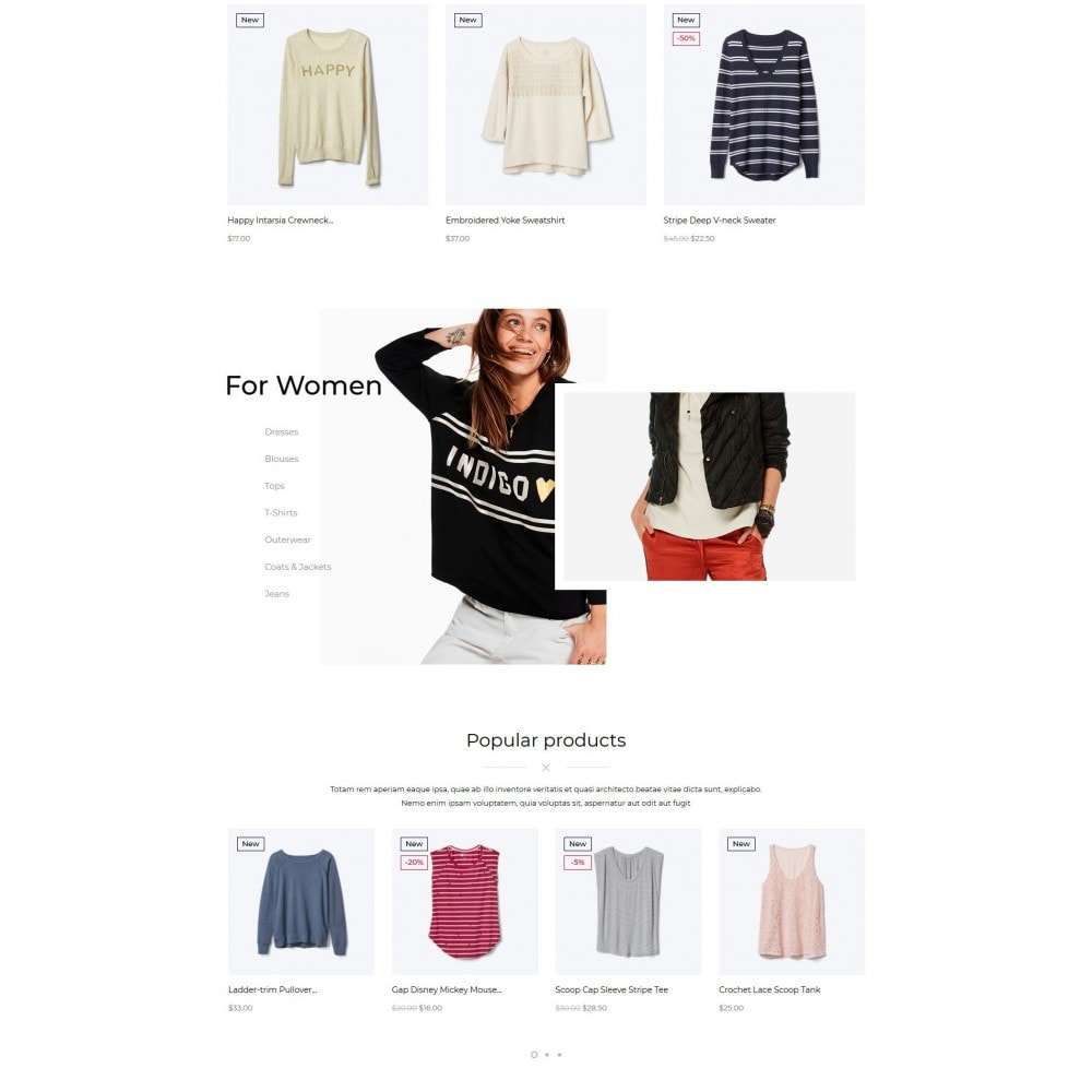 Resolution Fashion Store
