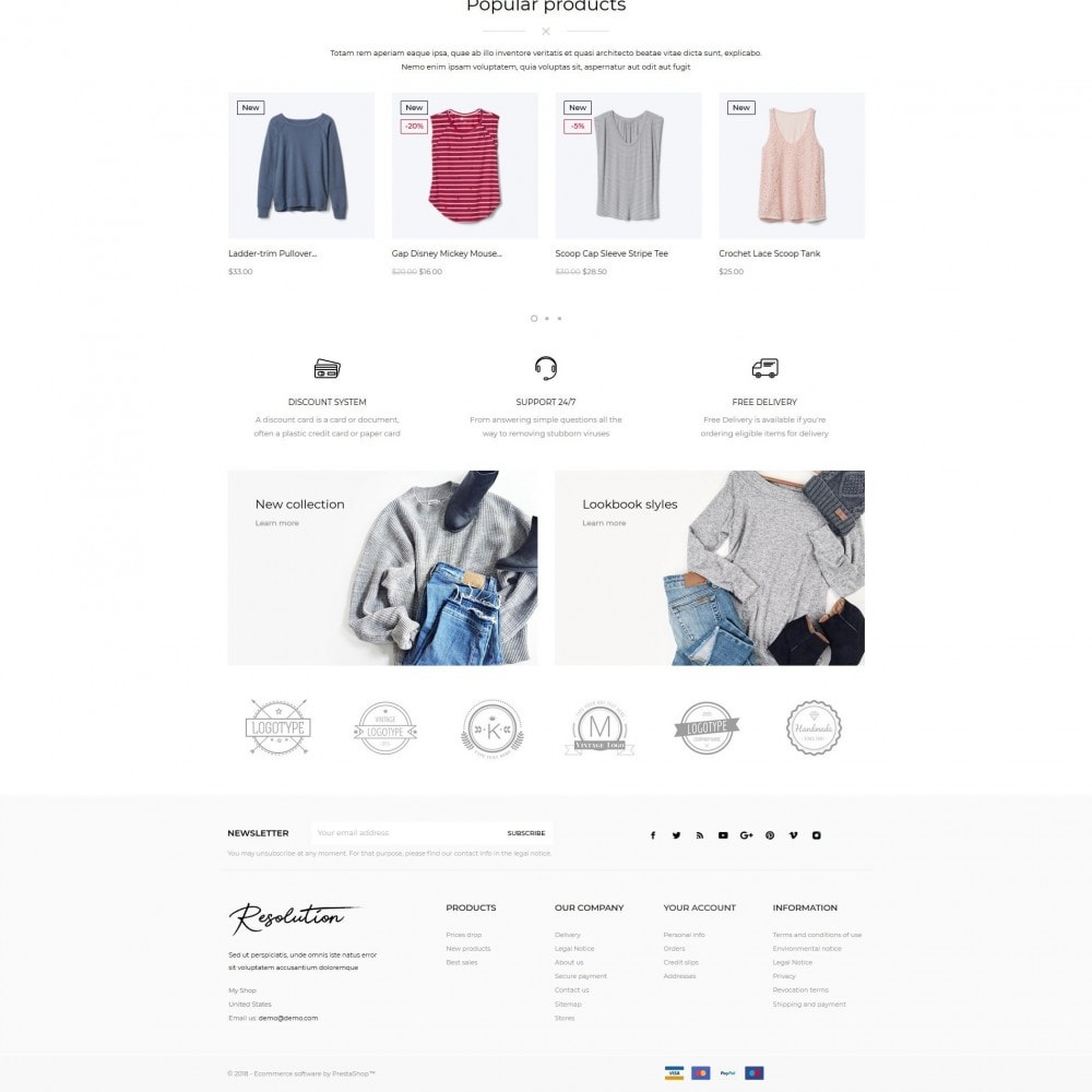 theme - Мода и обувь - Resolution Fashion Store - 5