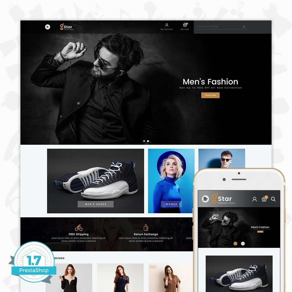 theme - Mode & Chaussures - gStar - The Fashion Store - 1