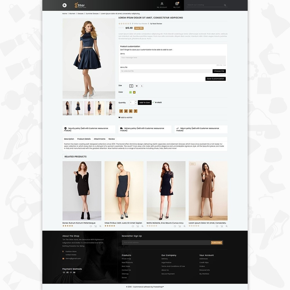 theme - Mode & Chaussures - gStar - The Fashion Store - 5