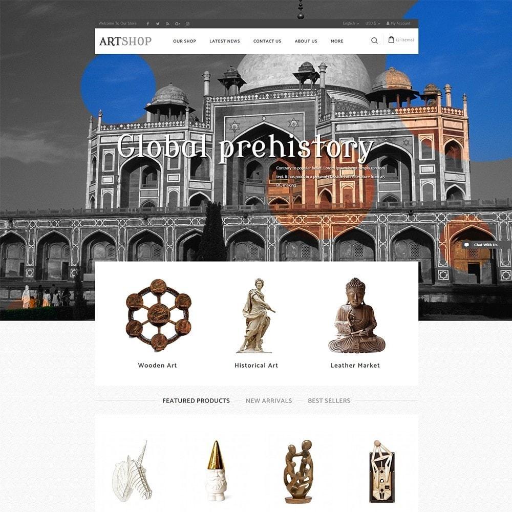theme - Maison & Jardin - Art Shop - 2
