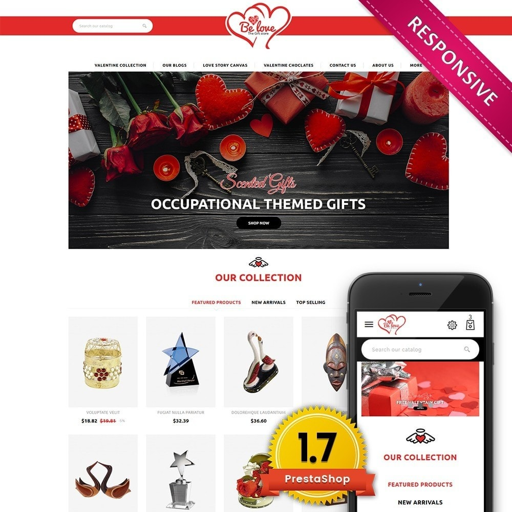theme - Gifts, Flowers & Celebrations - Belove Valentine Gift Shop - 1