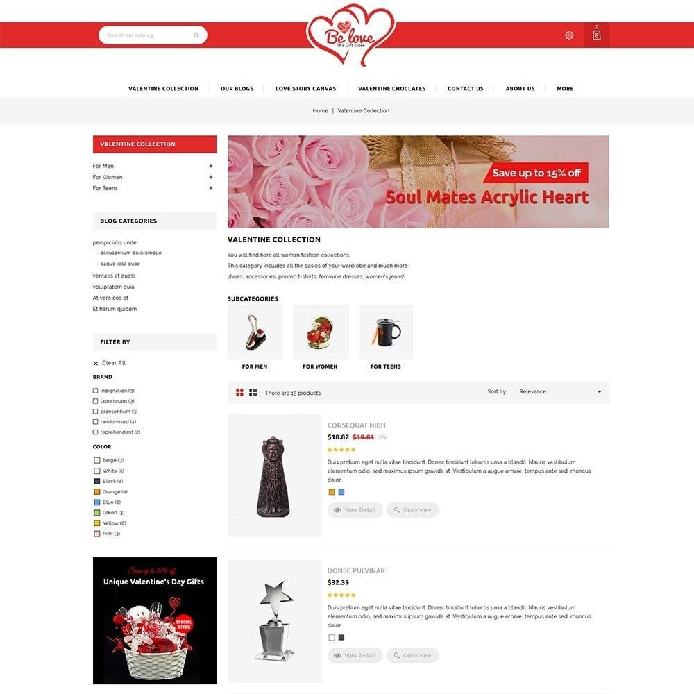 theme - Presentes, Flores & Comemorações - Belove Valentine Gift Shop - 5