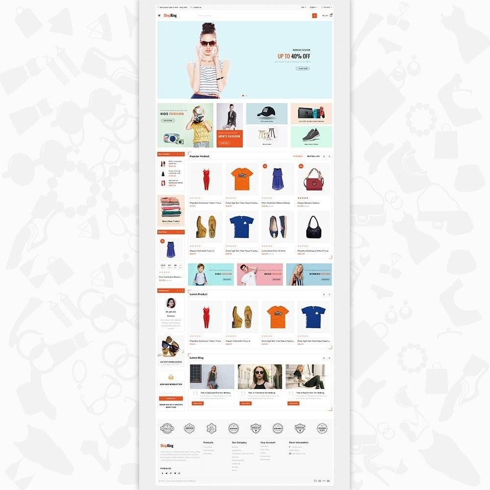 theme - Fashion & Shoes - ShopKing - The Fashion Store - 2