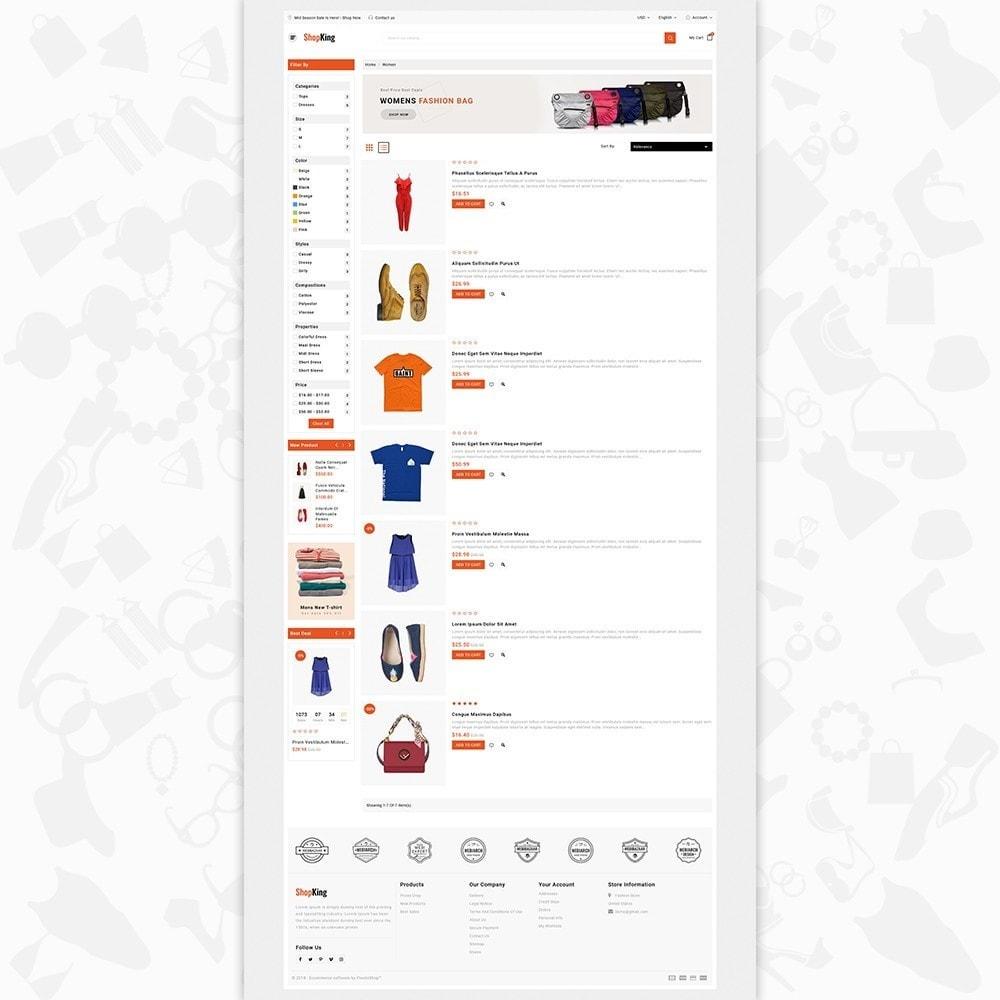 theme - Fashion & Shoes - ShopKing - The Fashion Store - 4