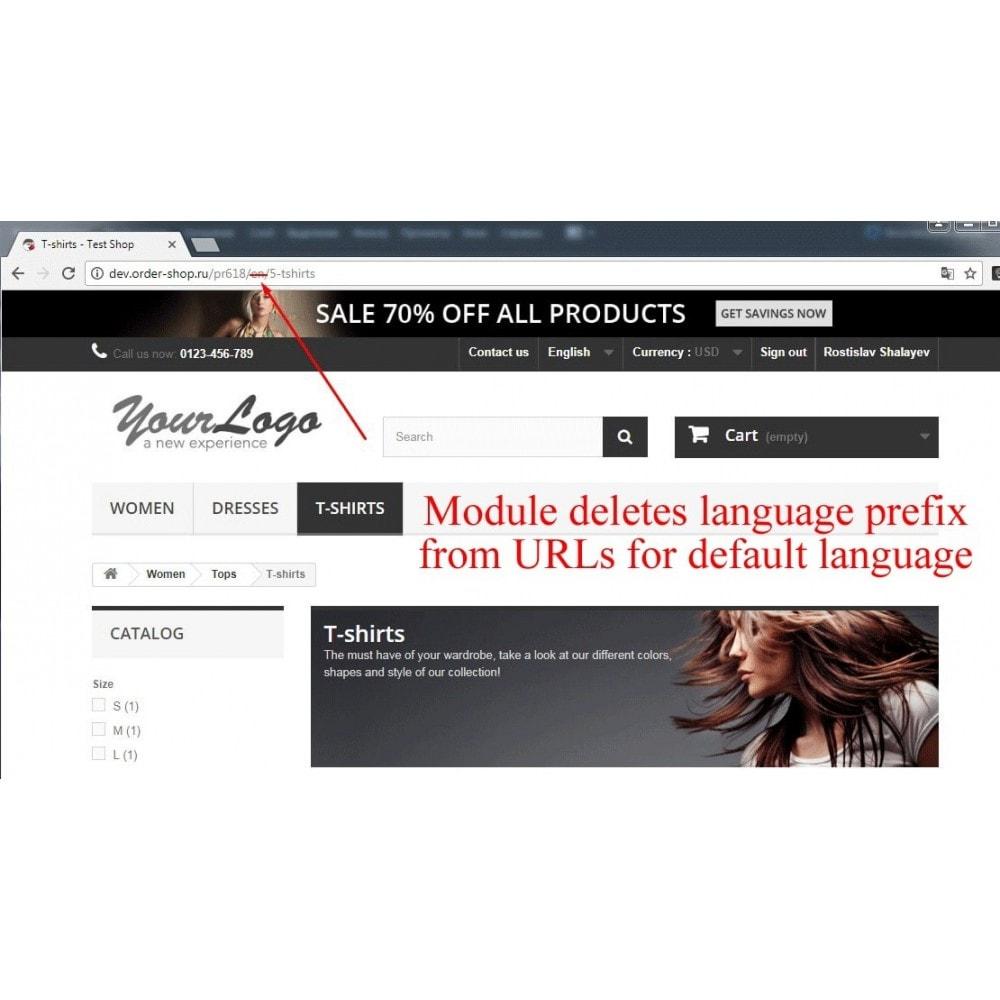 module - SEO (référencement naturel) - Delete Language Prefix - 3