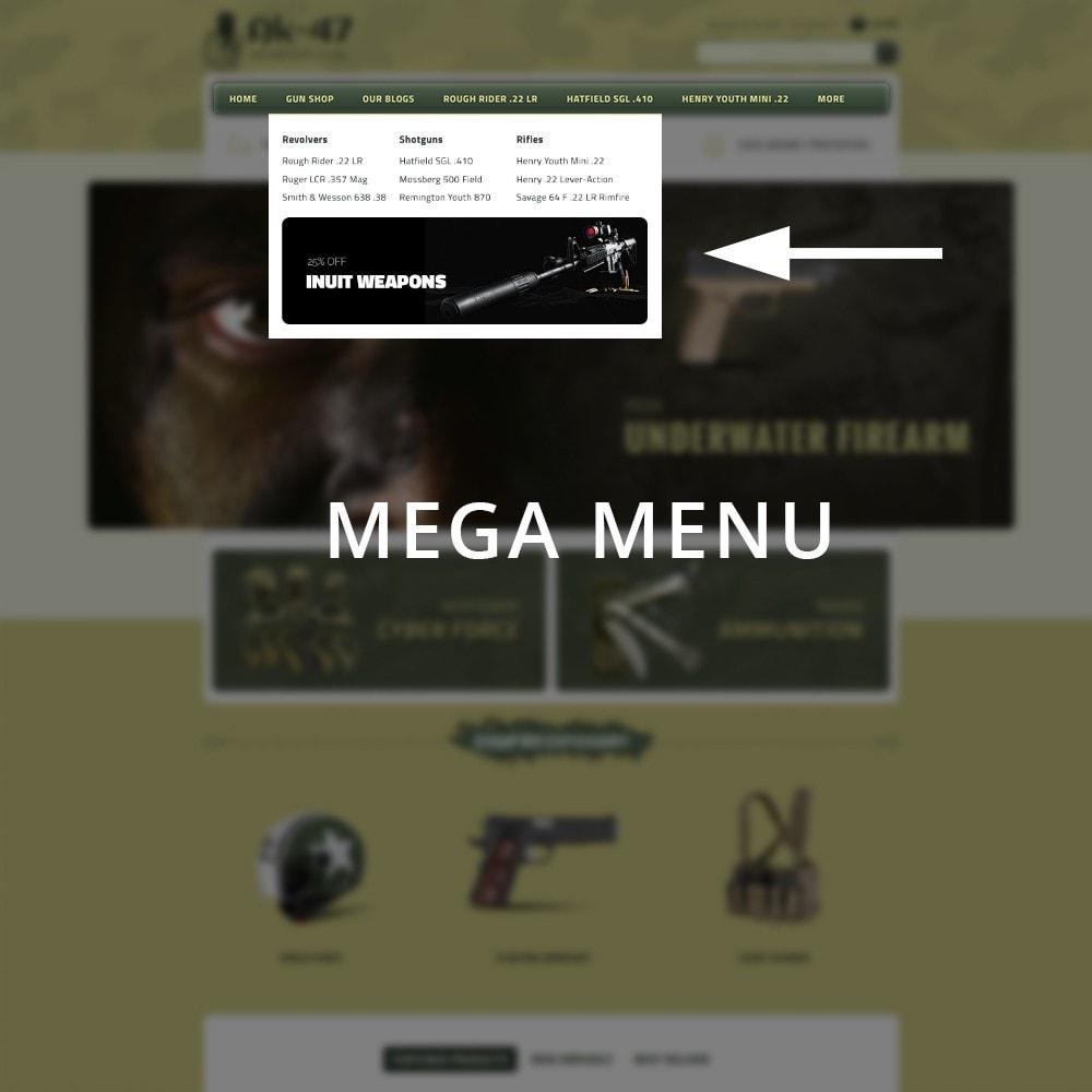 theme - Auto & Moto - AK47 Gun & Tools Store - 9