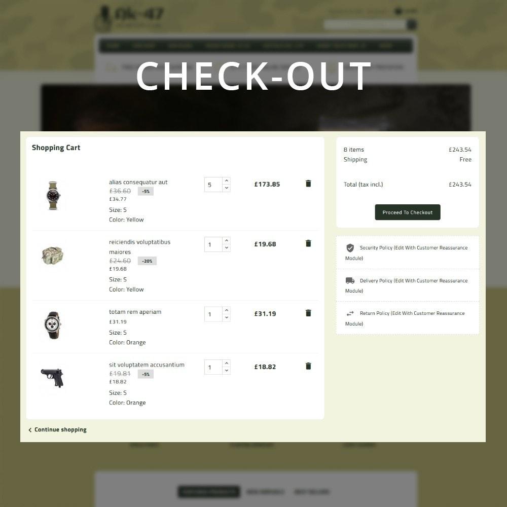 theme - Carros & Motos - AK47 Gun & Tools Store - 11
