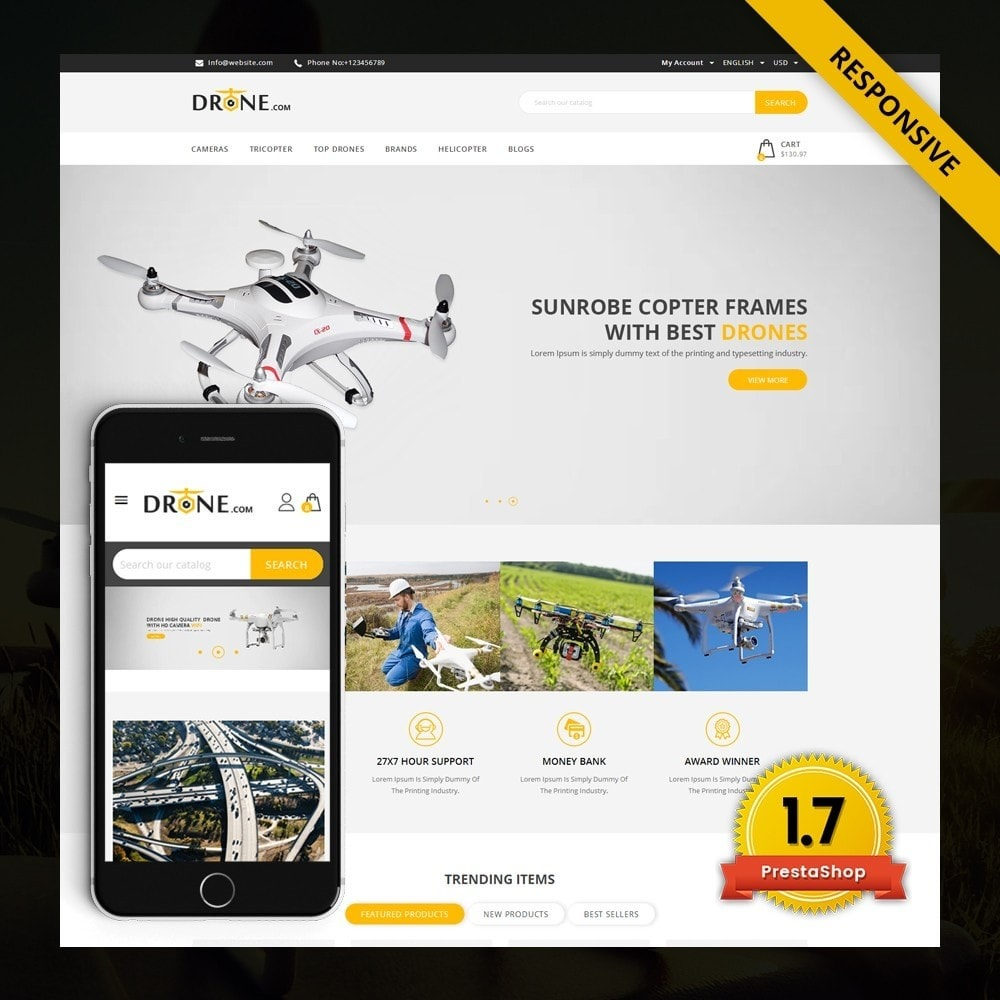Drone - Online Store