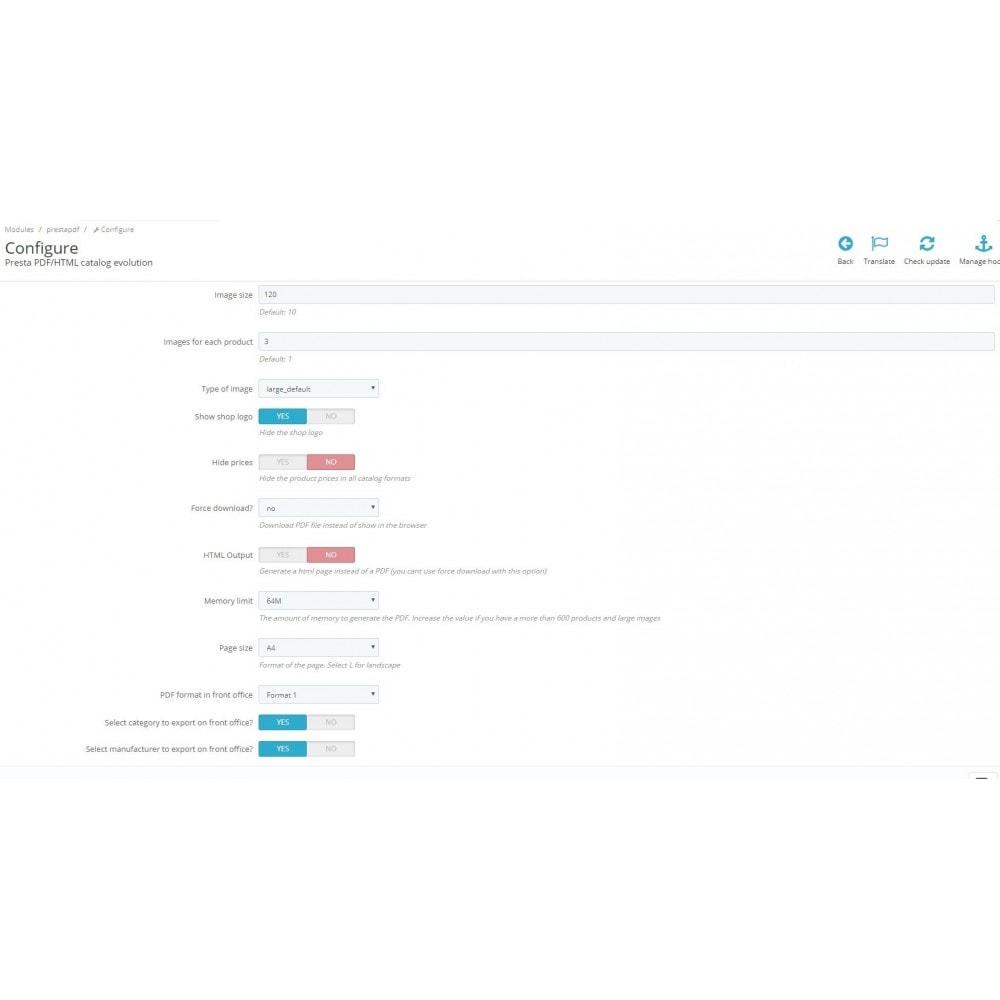 module - Data Import & Export - RSI PDF/HTML catalog  evolution - 4