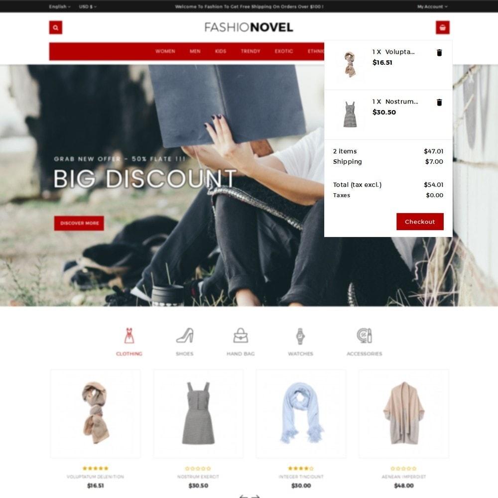 theme - Fashion & Shoes - Fashionovel Store - 8