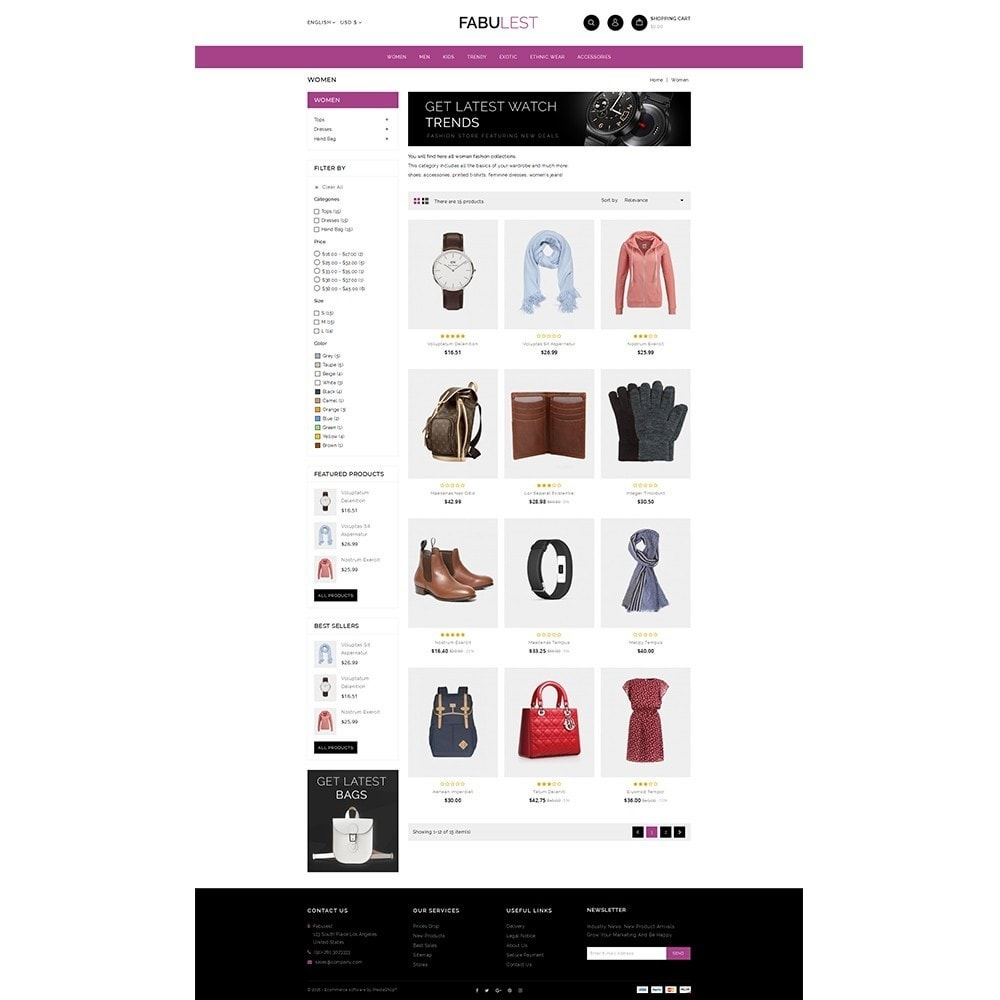 theme - Mode & Chaussures - Fabulest Store - 3