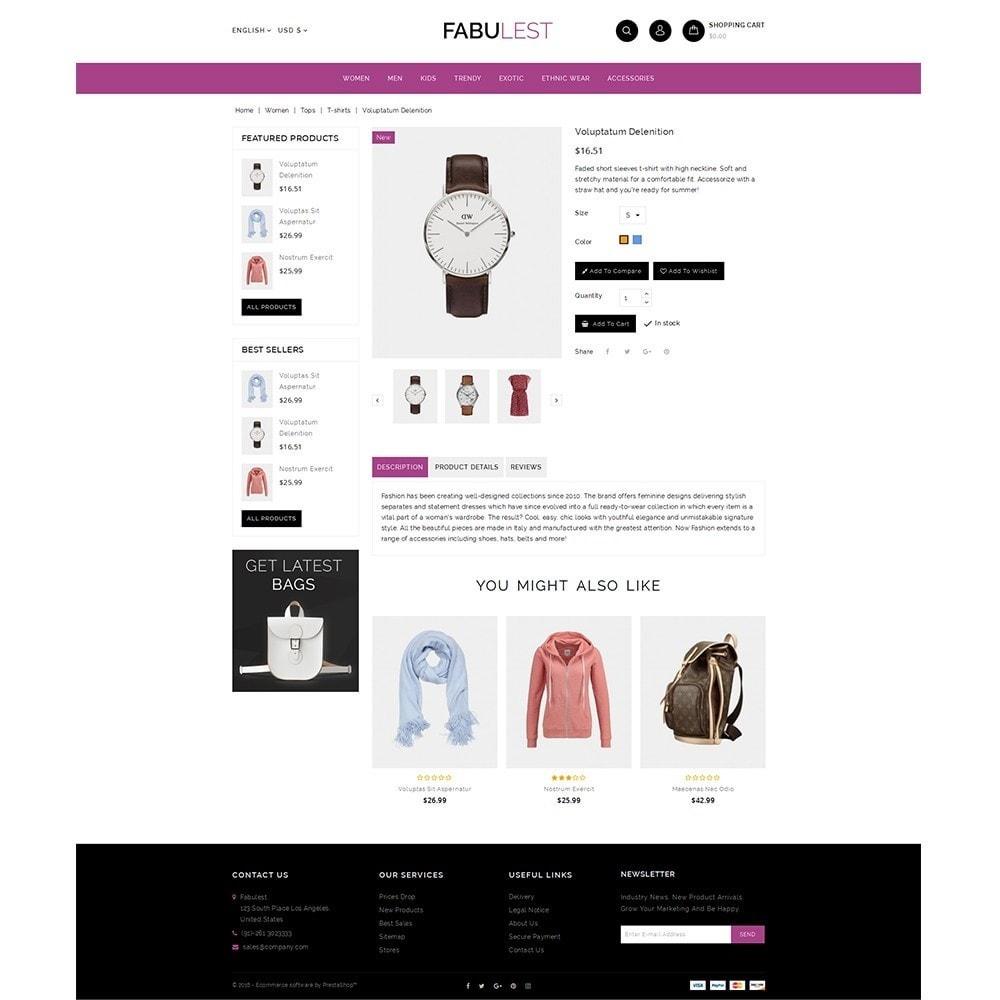 theme - Mode & Schuhe - Fabulest Store - 5