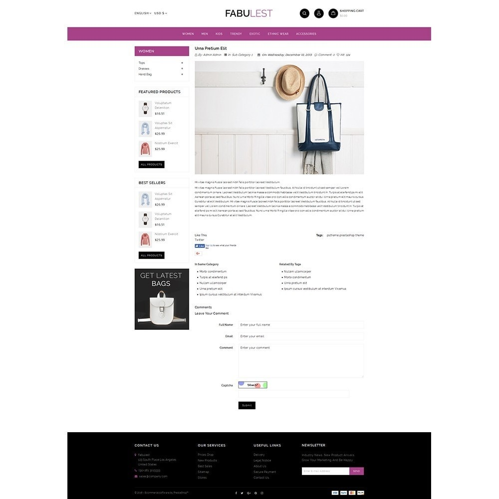 theme - Mode & Schoenen - Fabulest Store - 6