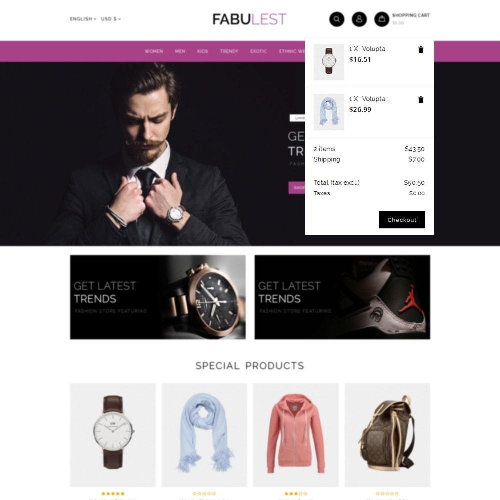 theme - Mode & Schuhe - Fabulest Store - 8