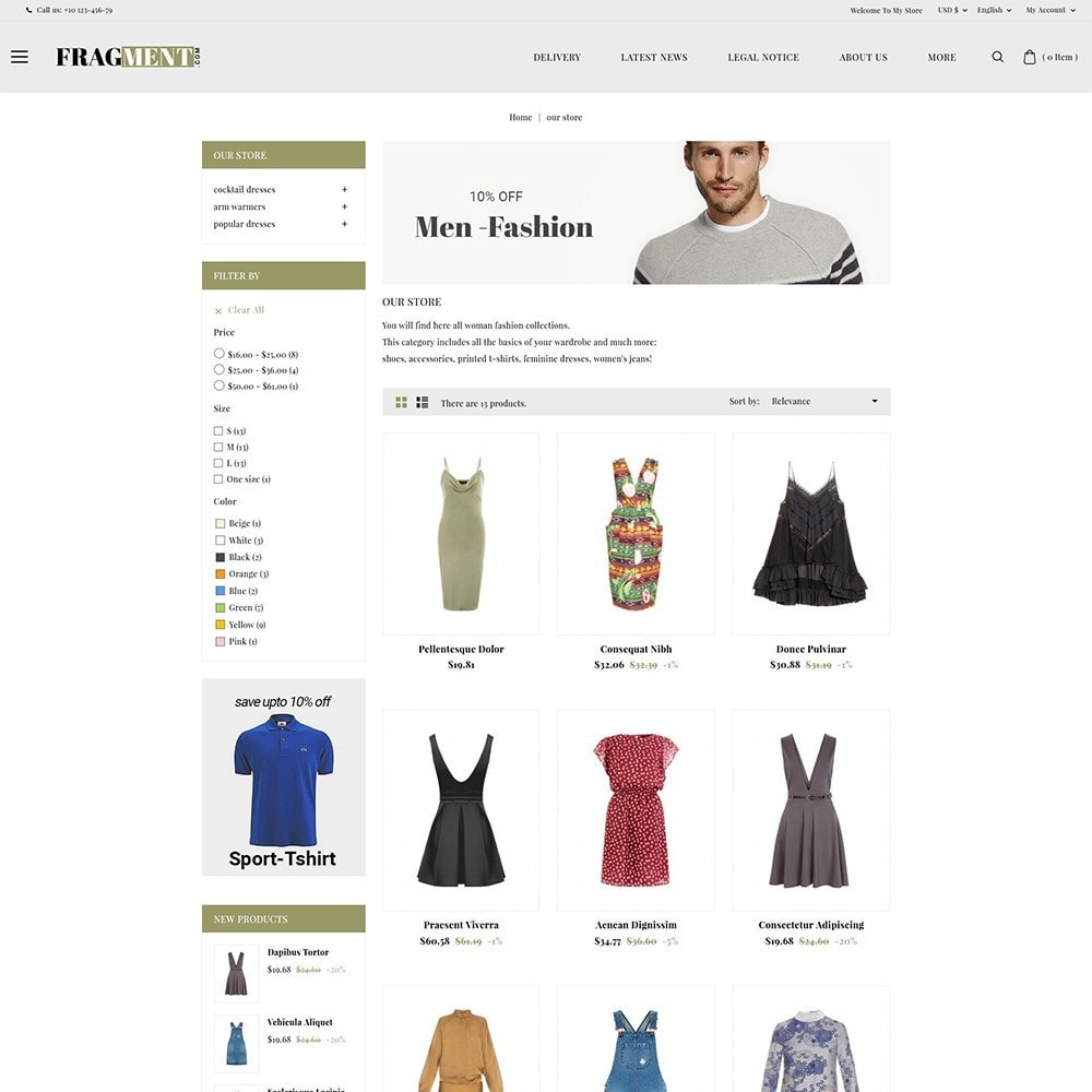 theme - Moda & Calzature - Fragment Fashion Shop - 4