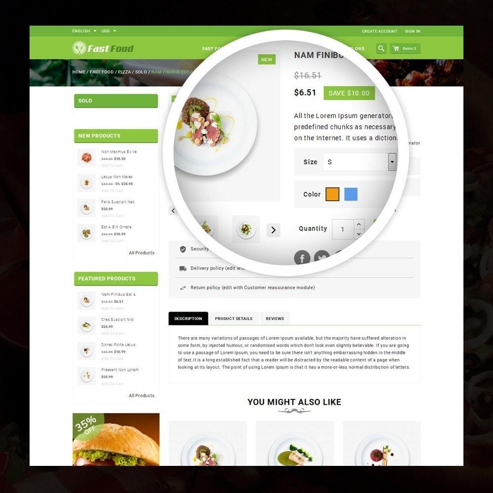 theme - Żywność & Restauracje - FastFood - Food Store - 4