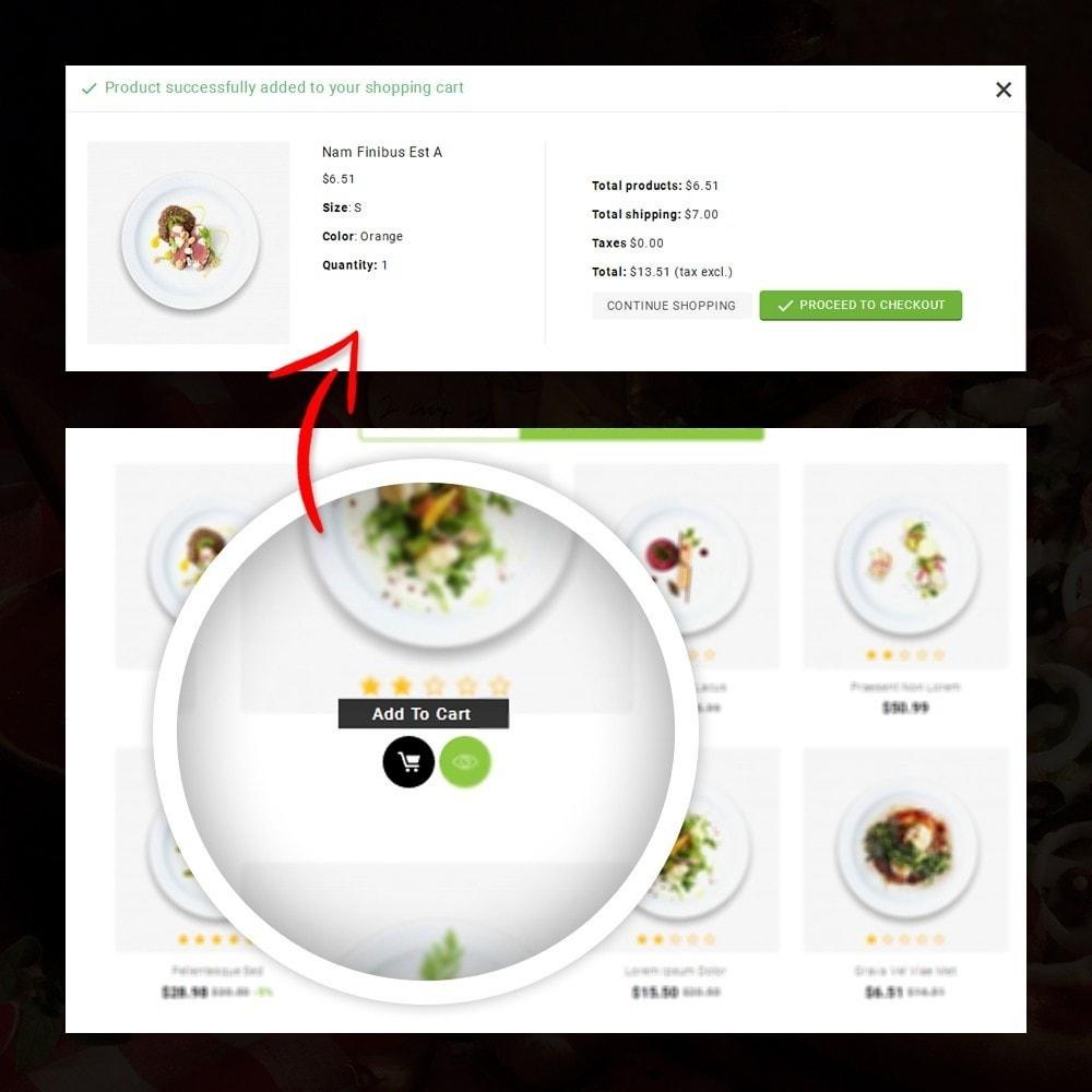 theme - Alimentation & Restauration - FastFood - Food Store - 5