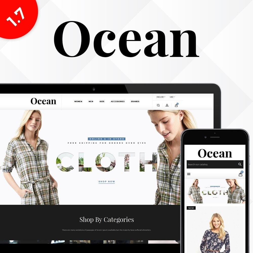 theme - Mode & Chaussures - Ocean Fashion Store - 1