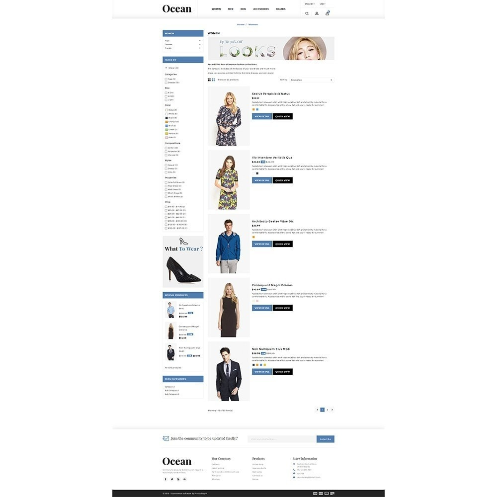 theme - Moda & Obuwie - Ocean Fashion Store - 4