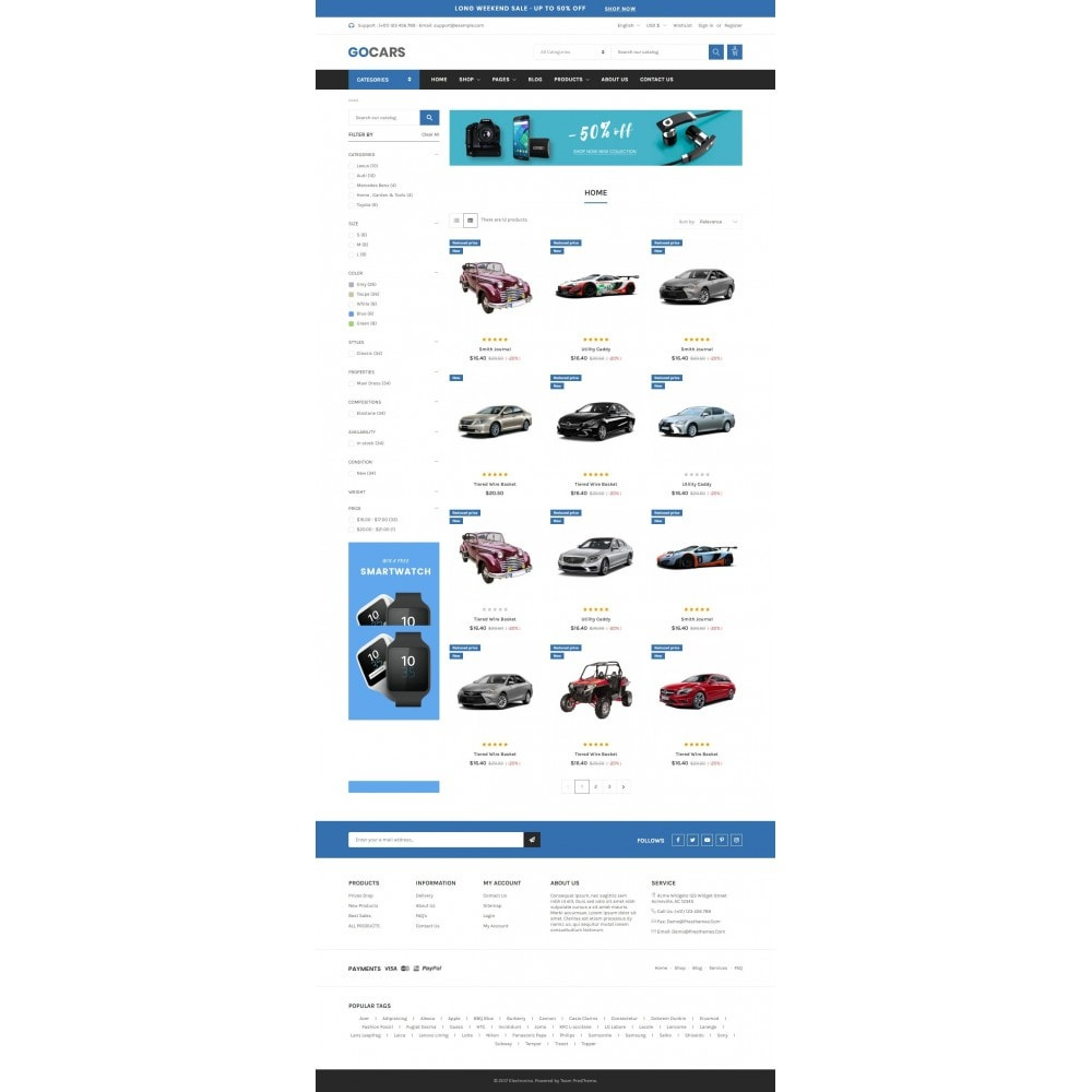 theme - Carros & Motos - Automotive & Cars - Gomarket - 3