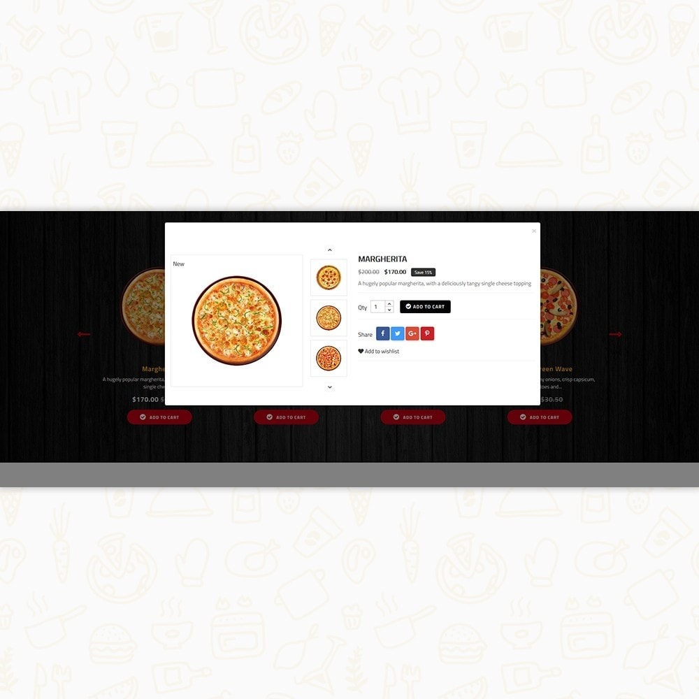theme - Alimentation & Restauration - Hot Pizza House Store - 6