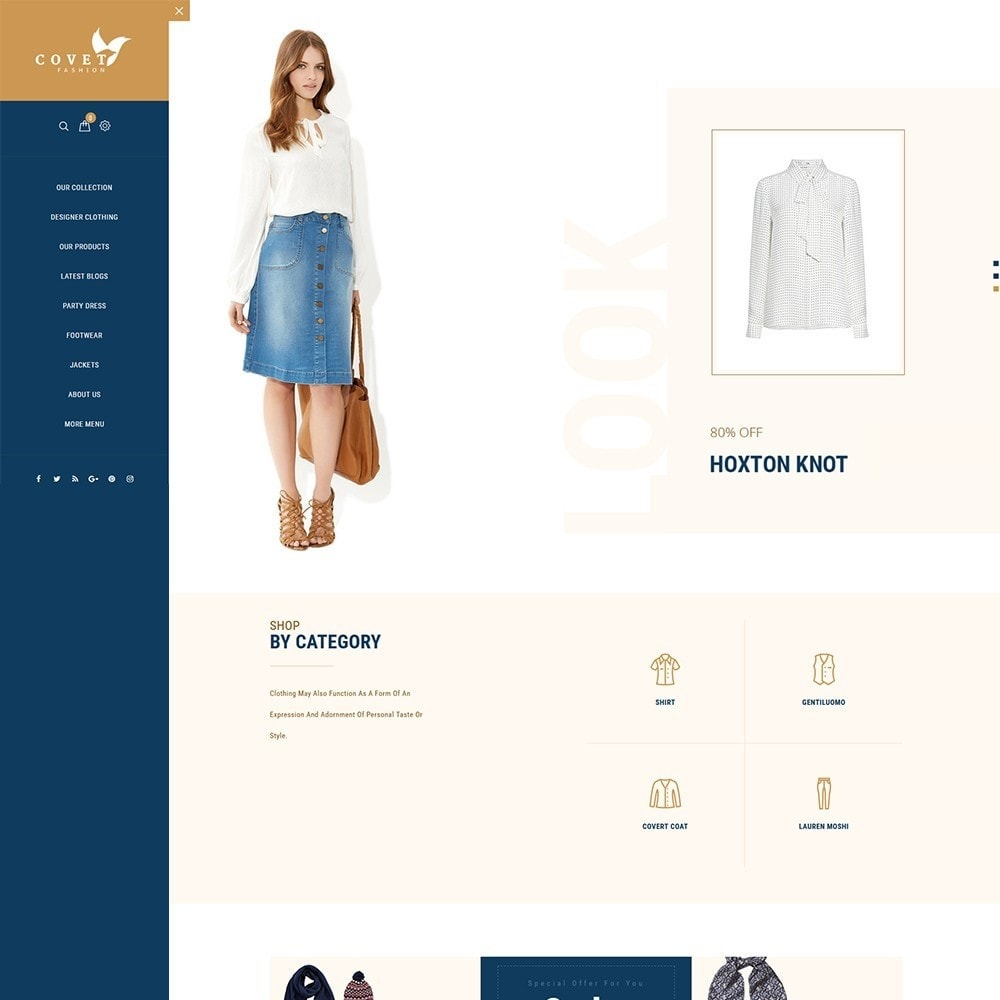 theme - Moda & Calçados - Covet Fashion Store - 2