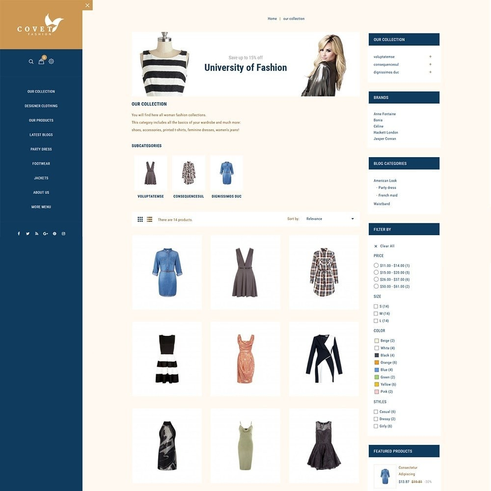 theme - Mode & Chaussures - Covet Fashion Store - 4
