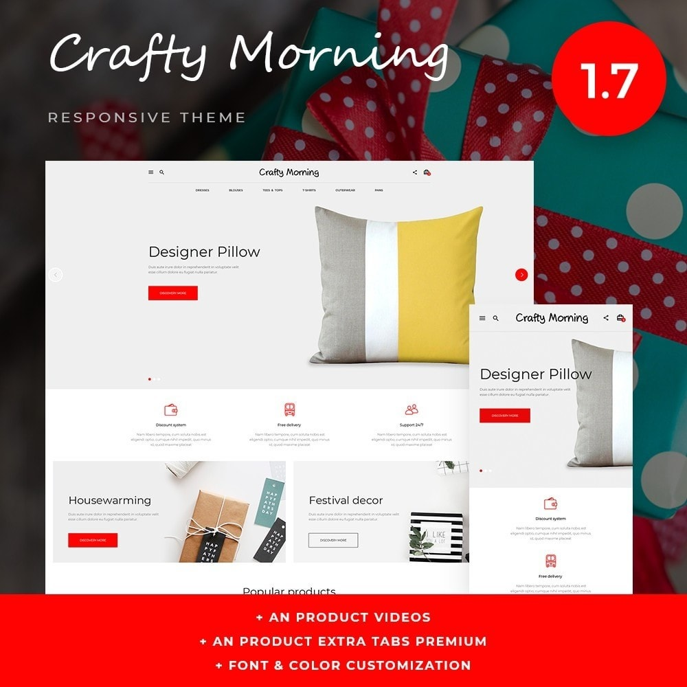 theme - Home & Garden - Crafy morning - 1