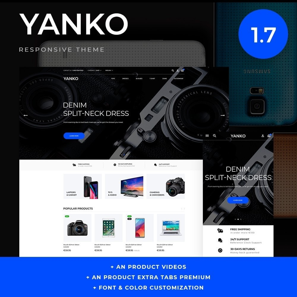 theme - Electronics & Computers - Yanko - High-tech Shop - 1
