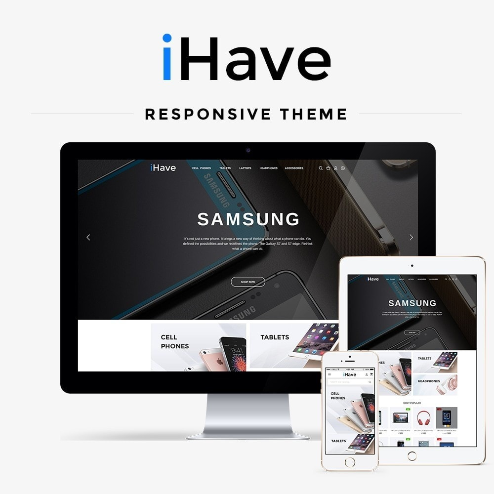 theme - Eletrônicos & High Tech - iHave - High-tech Shop - 1
