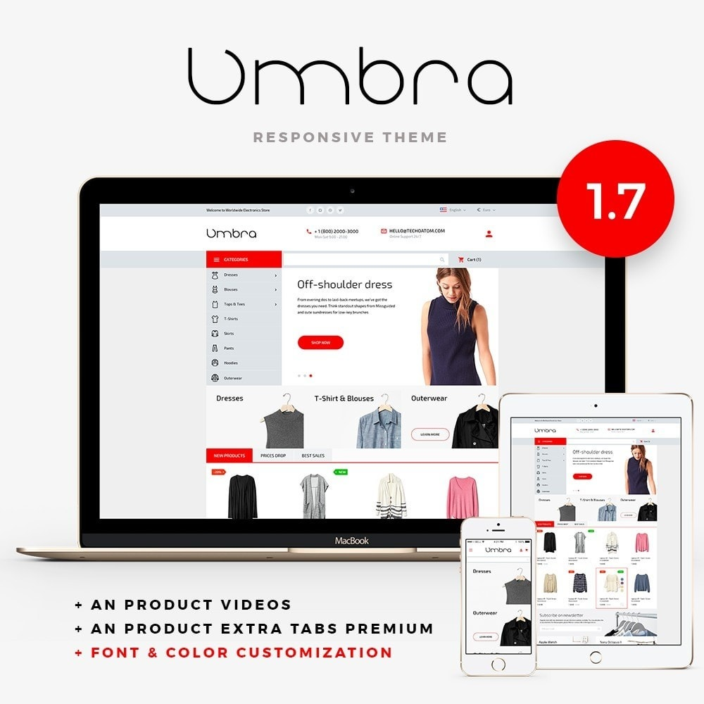 theme - Fashion & Shoes - Umbra Fashion Store - 1