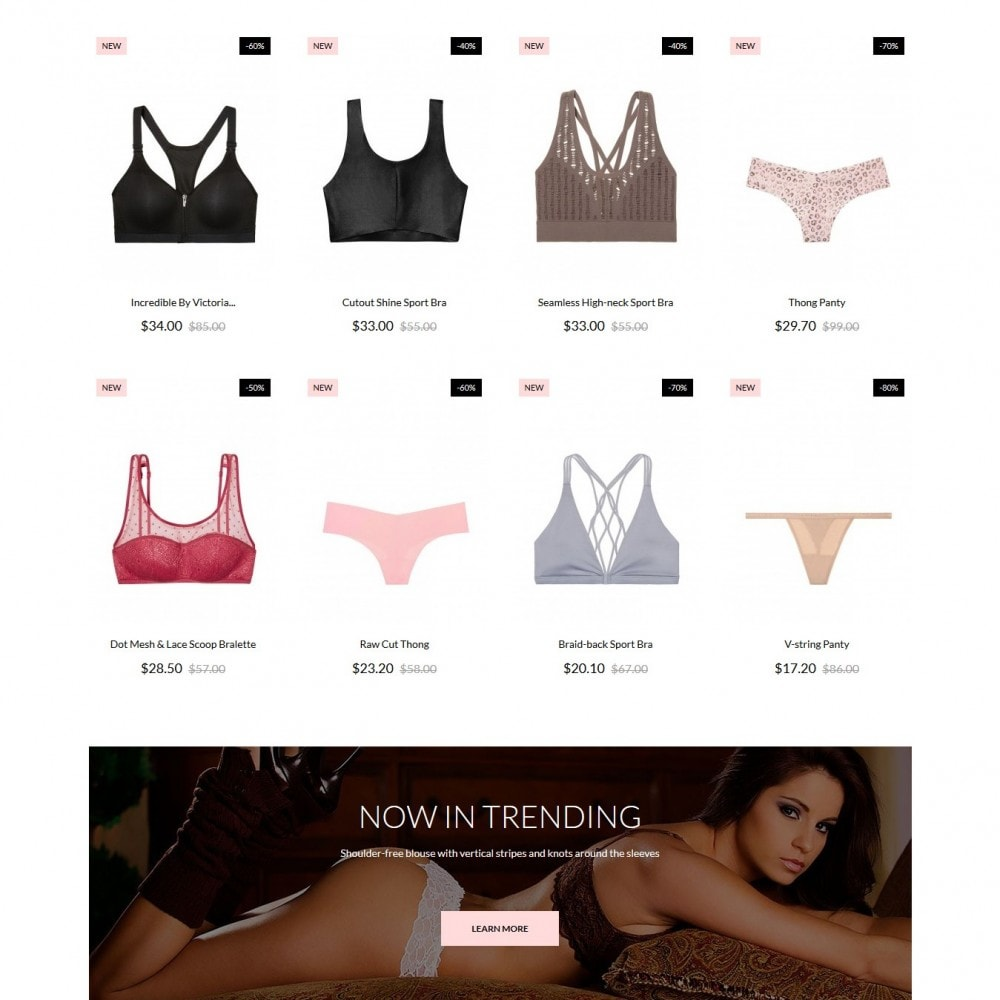 theme - Lingerie & Adult - Ladiesvenue Lingerie Shop - 3