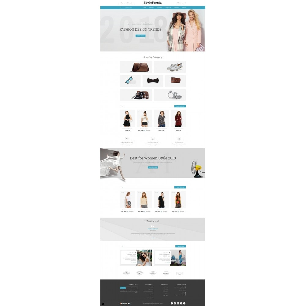 theme - Fashion & Shoes - Style Foonia - Fashion Store - 10