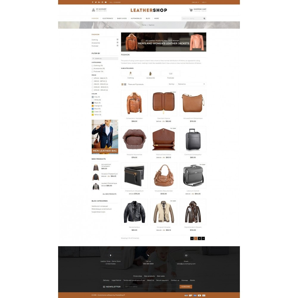 theme - Mode & Schoenen - Leather Shop - 3