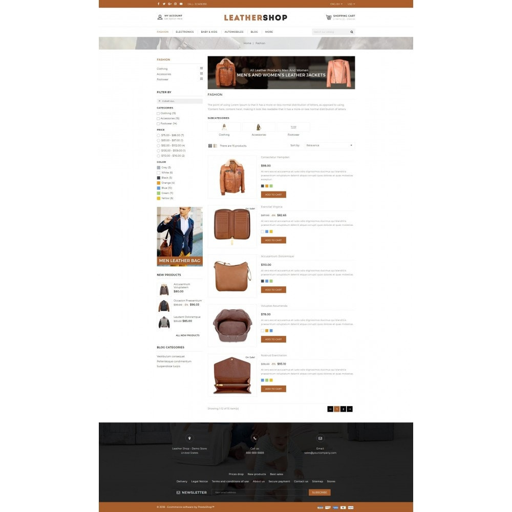 theme - Mode & Schoenen - Leather Shop - 4