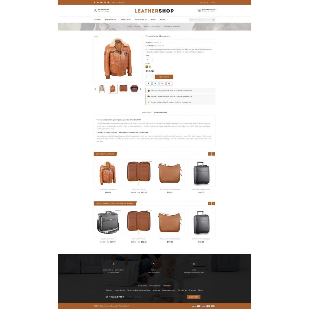 theme - Moda & Calzature - Leather Shop - 5