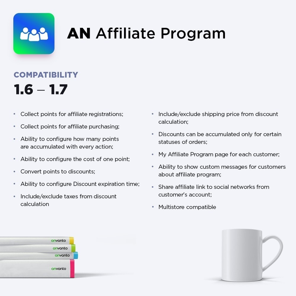 module - Loyaliteitsprogramma - AN Affiliate Program - 1