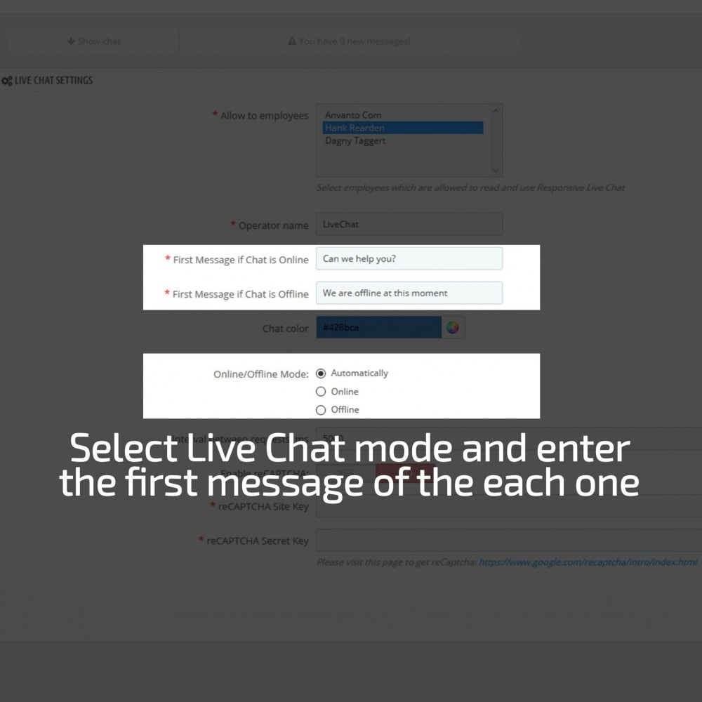 module - Support & Online Chat - AN Responsive Live Chat - 10