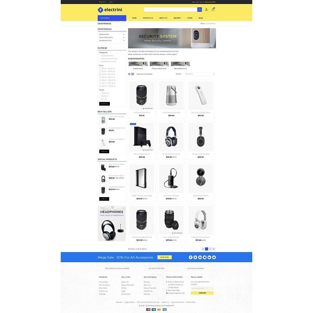 Electrini Demo Store