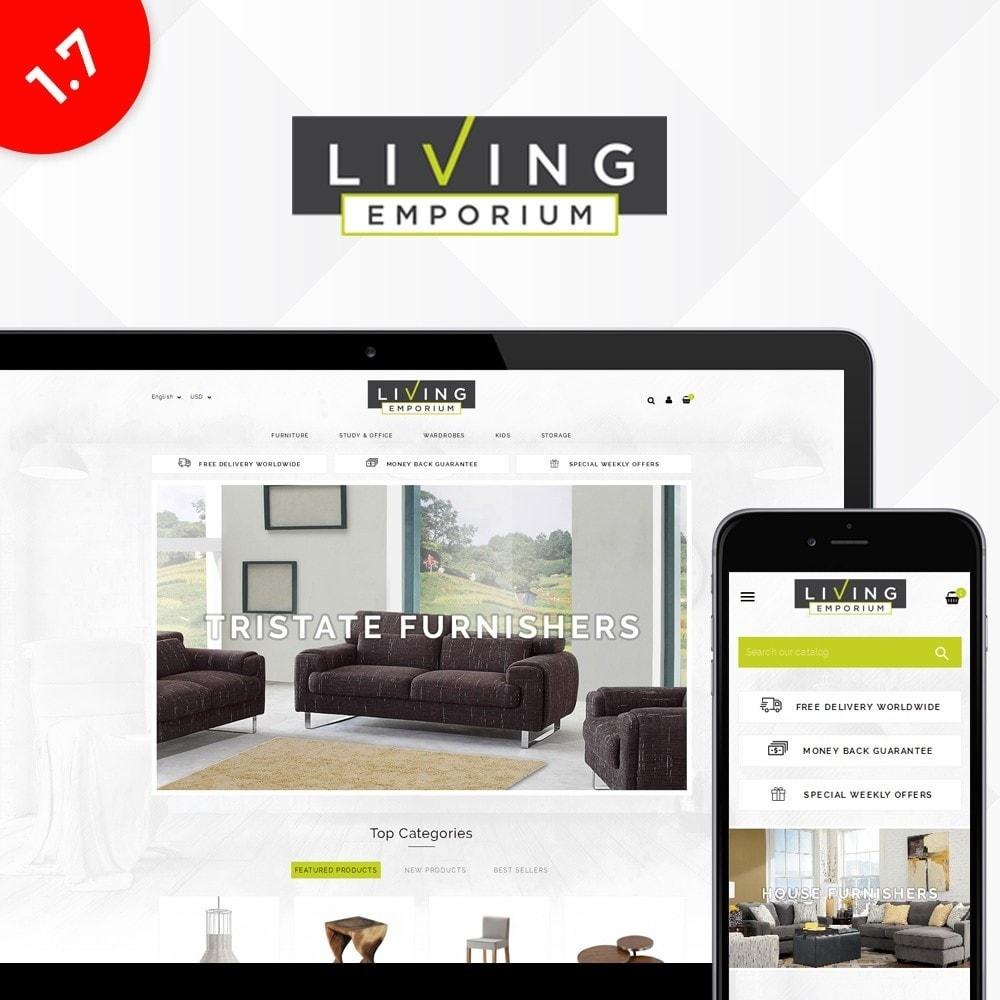 theme - Casa & Jardins - Living Emporium Store - 1