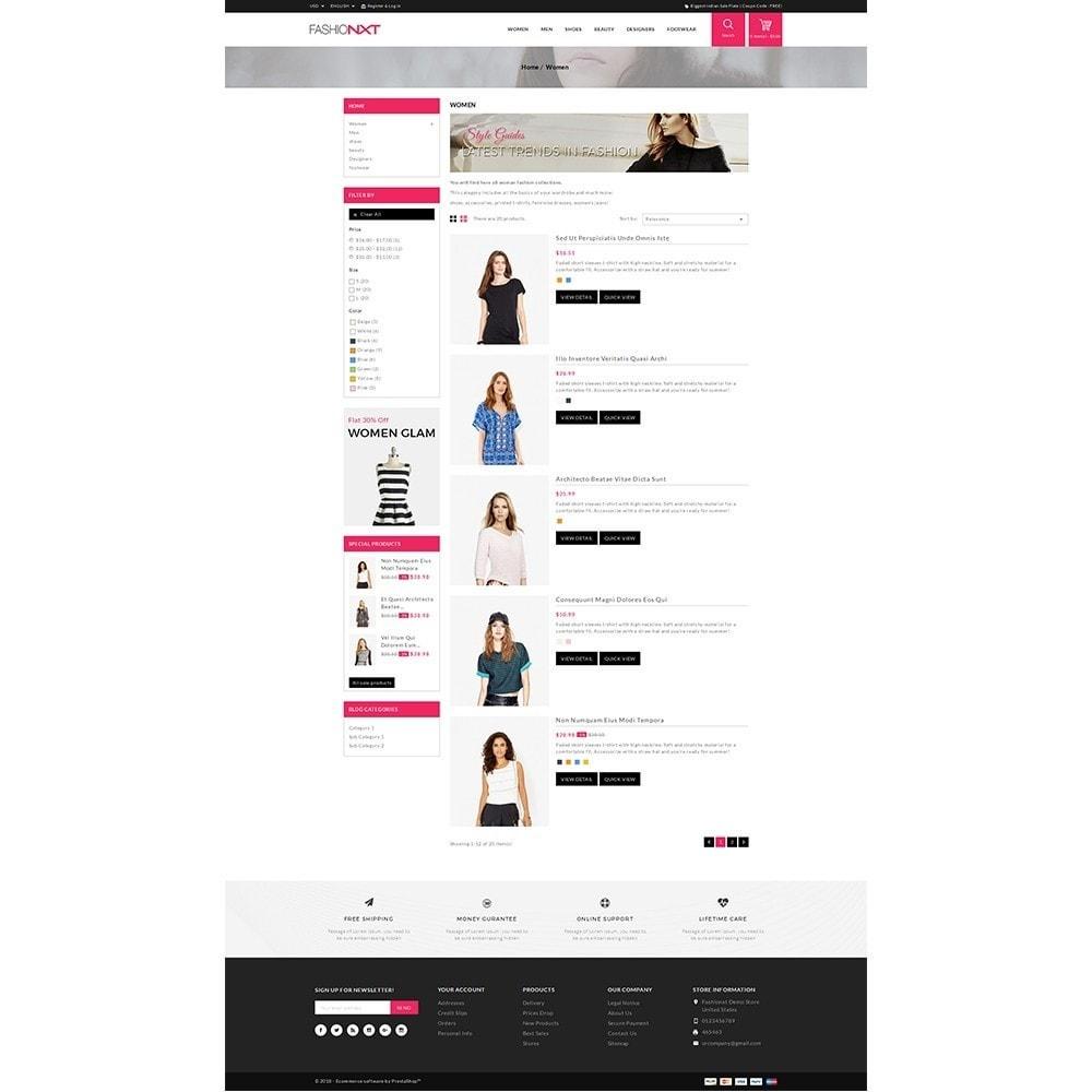 theme - Мода и обувь - Fashionxt Store - 4