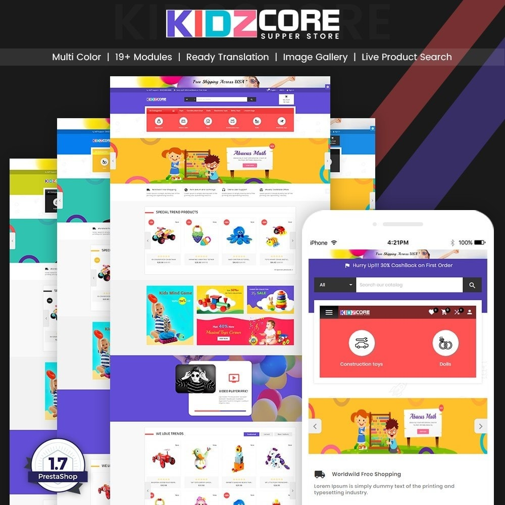 Kidz Core - Children Kids Toy Super Store