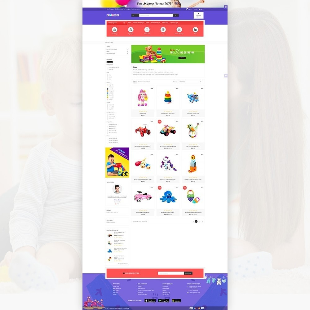 theme - Kids & Toys - Kidz Core – Kids Toy Super Store - 3