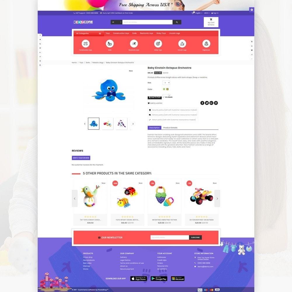 theme - Enfants & Jouets - Kidz Core - Children Kids Toy Super Store - 4