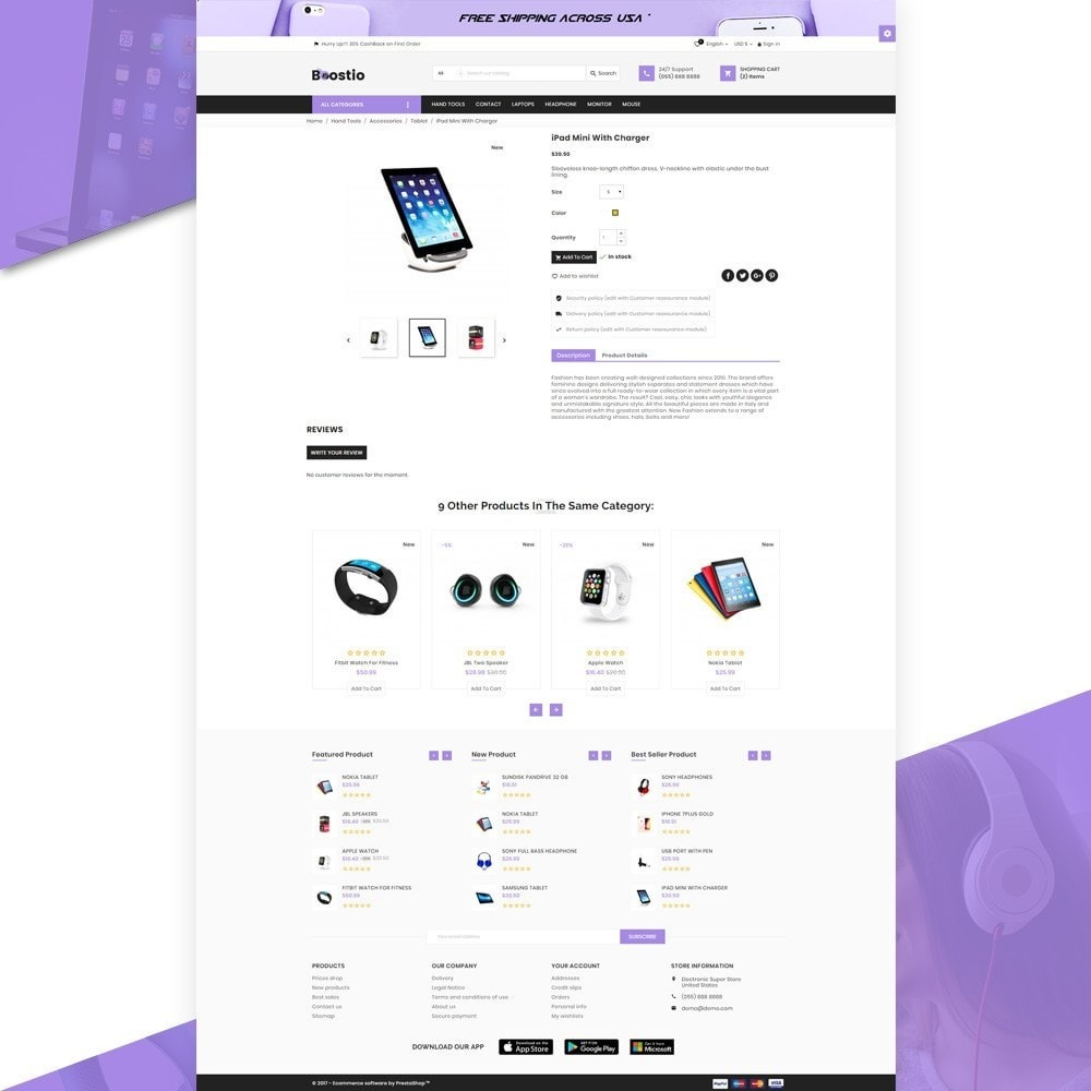 theme - Electronique & High Tech - Boostio – Computer Super Store v2 - 4