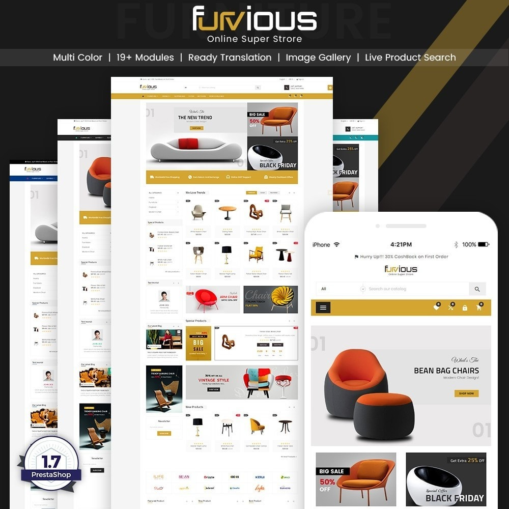 Furvious – Furniture and Home Decor Super Store v3