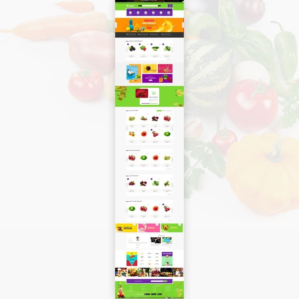 Orangic – Fresh Green Foods Super Store